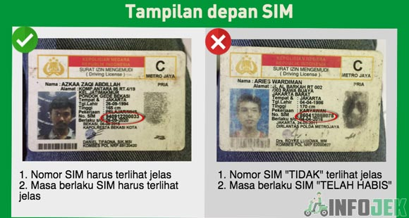 Upload SIM Yang Benar