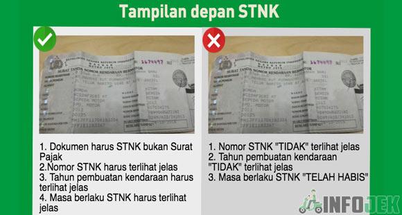 Upload STNK Yang Benar