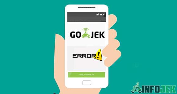 Aplikasi Gojek Error