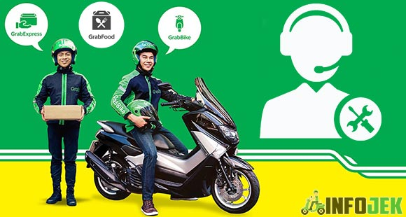 Call Center Grab Bike, GrabExpress Dan GrabFood