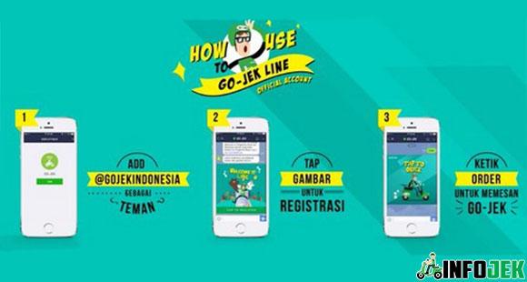 Cara Daftar Order Gojek Line