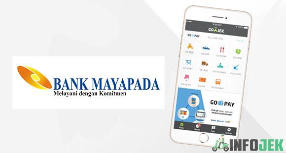 Cara Isi Saldo Gojek ATM Bank Mayapada