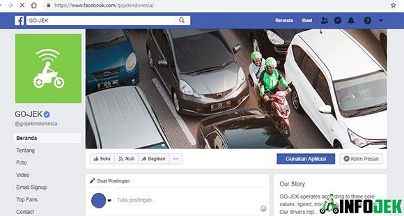 Cara Komplain Gojek Lewat Facebook