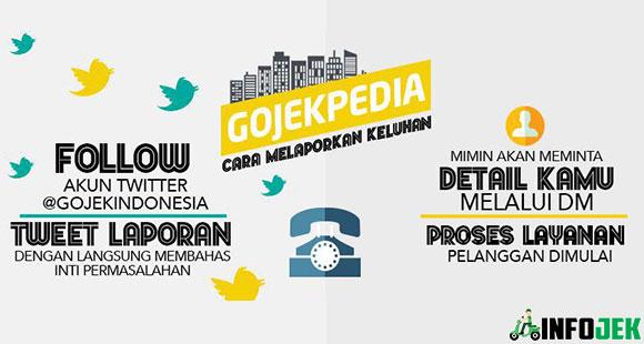 Cara Komplain Gojek Lewat Twitter