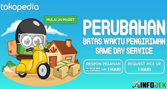Delivery Grab Same Day Tokopedia