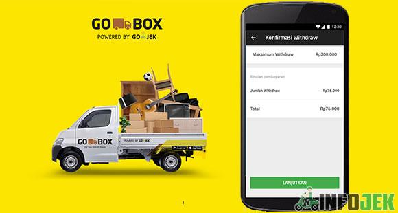 Cara Withdraw Gojek Untuk DriverGO-BOX