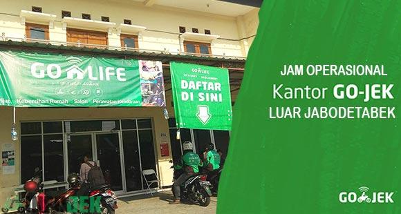 Jam Operasional Gojek Luar Jabodetabek