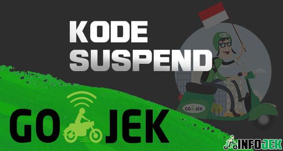 Kode Suspend Gojek