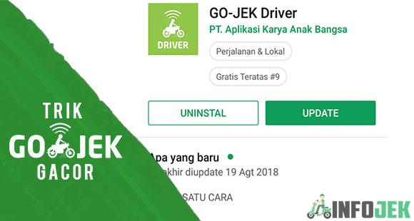 Selalu Update Aplikasi Gojek Driver