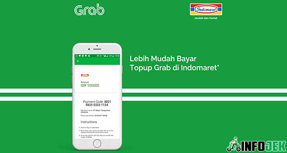 Top Up Grab Di Indomaret