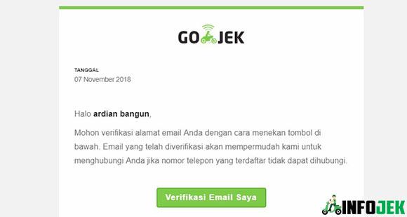 Buka Email Lalu Verifikasi