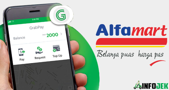 Cara Top Up Grab Driver Via Alfamart