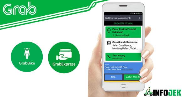 Proses Penjemputan GrabBike & GrabExpress