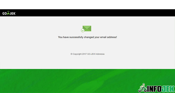Verifikasi Email Sukses
