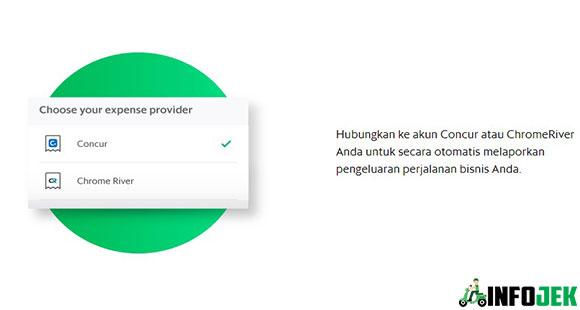 menghubungkan ke akun Concur ataupun Chromerver
