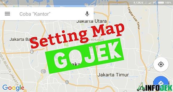 Enable Maps Permission Gojek