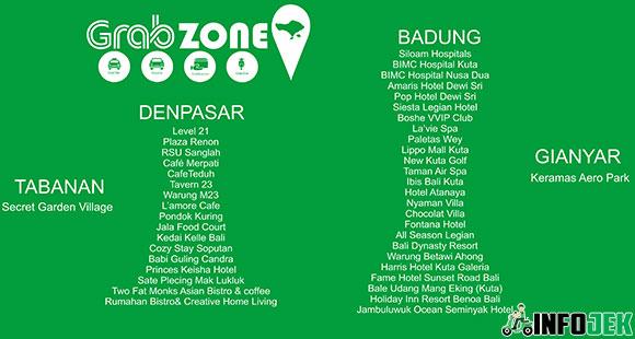 Grab Zone Bali