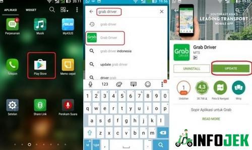 Rutin Melakukan Update Aplikasi Grab