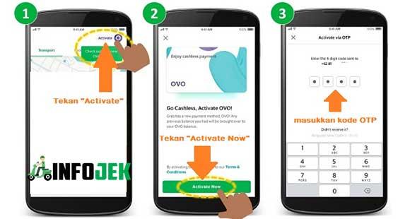 Cara Aktivasi Ovo di Aplikasi Grab