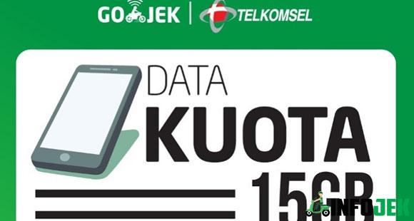 Layanan Paket Telkomsel Gojek 75RB