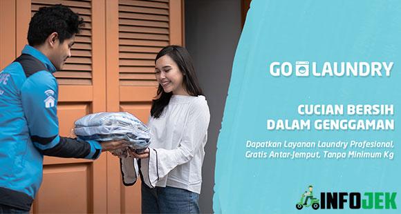 5 Cara Pesan Go Laundry Mudah 2021 Info Tarif Biaya Infojek