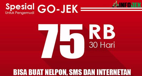 Syarat Ketentuan Paket Telkomsel Gojek 75RB