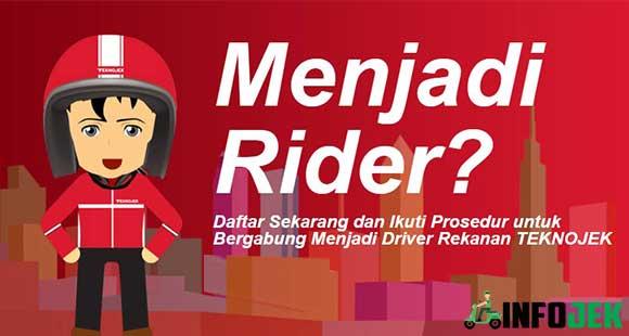 Cara Daftar Rider Teknojek