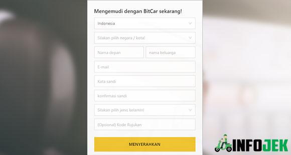 Cara Mendaftar Bitcar Indonesia Secara Online