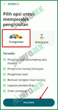 8 Pilih Transportasi