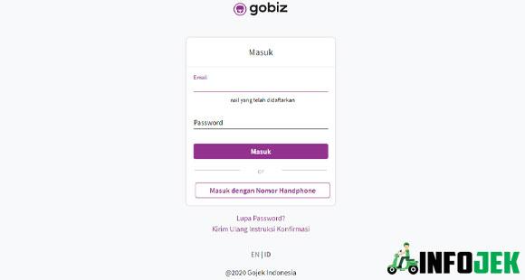 Cara Mengakses GoBiz Dashboard