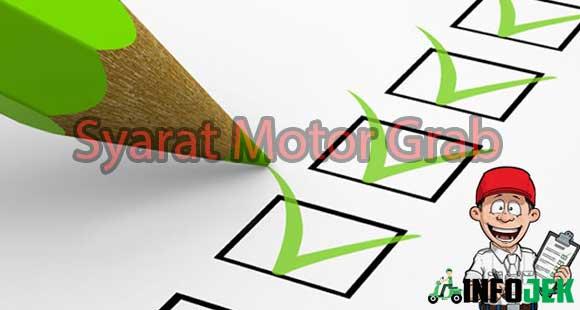Syarat Motor Grab