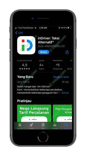 1 Download dan Instal Aplikasi InDriver