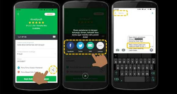 35 Cara Cek Resi Grab Same Day 2021 Pc Android Ios Infojek