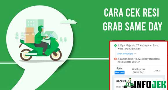 35 Cara Cek Resi Grab Same Day 2021 Pc Android Ios Infojek