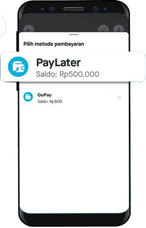 Pilih PayLater 1