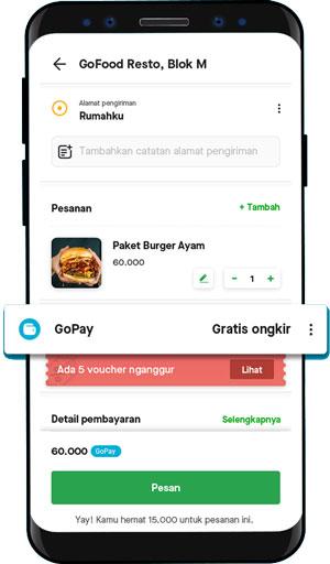 klik tombol Pembayaran