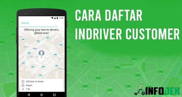 Cara Daftar inDriver Customer