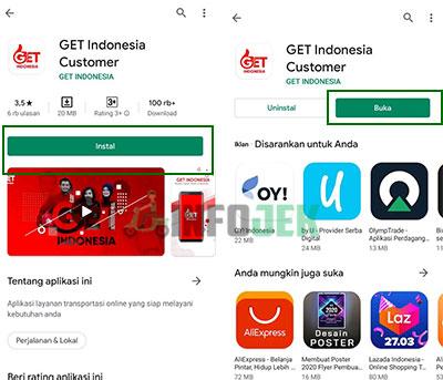 Unduh aplikasi GET Indonesia Custome