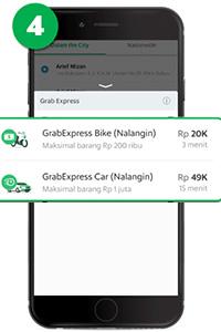 tarif Grab Express Nalangin