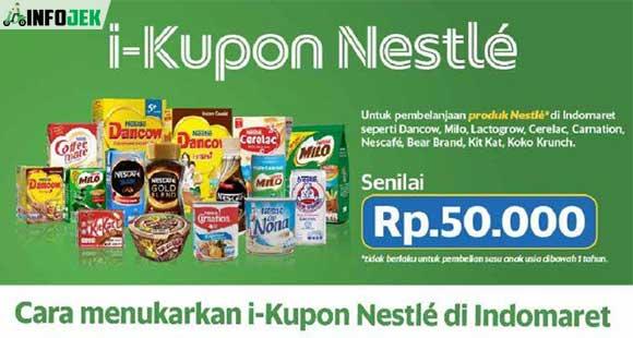 Cara Menukar i Kupon Nestlé Indomaret