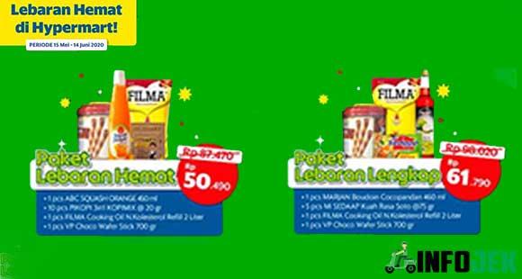 Jenis Paket Lebaran Grab Hypermart