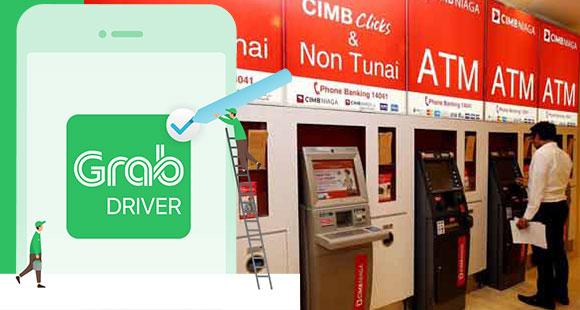 Top Up Grab Driver ATM CIMB Niaga