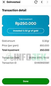 beli emas go investasi
