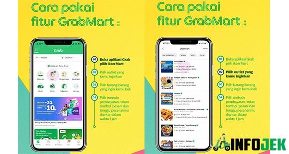 Cara Menggunakan GrabMart