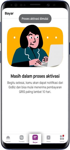 Pilih Klik Bayar di GoBiz Aplikasi