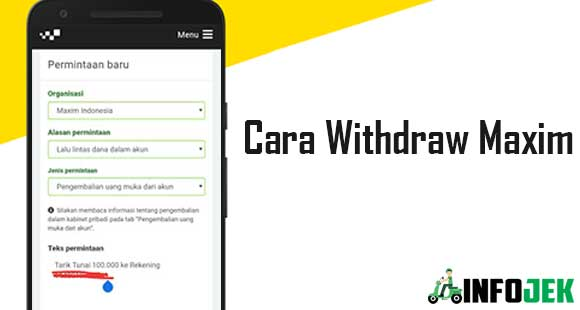 Cara Withdraw Maxim