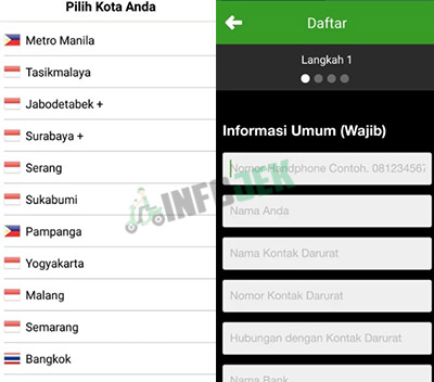 Daftar Deliveree