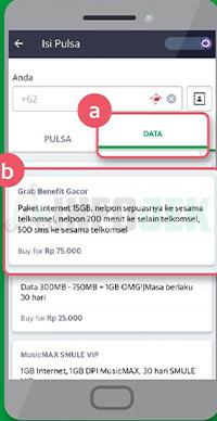 Cara Daftar Paket Gacor Telkomsel Grab