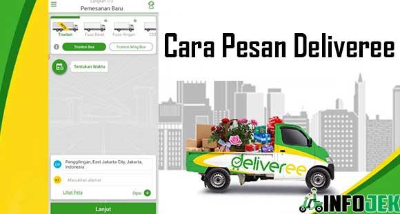 Cara Pesan Deliveree