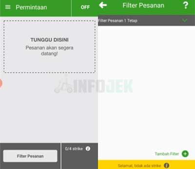 Menambahkan Filter Pesanan